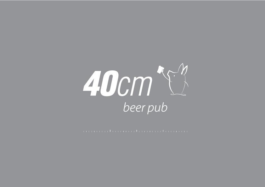 40cm Logo design