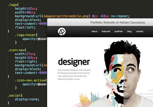 홈페이지의 개발자와 운영자의 역할