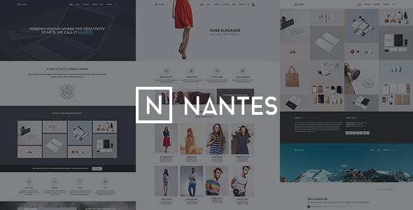 추천 쇼핑몰 테마 – Nantes