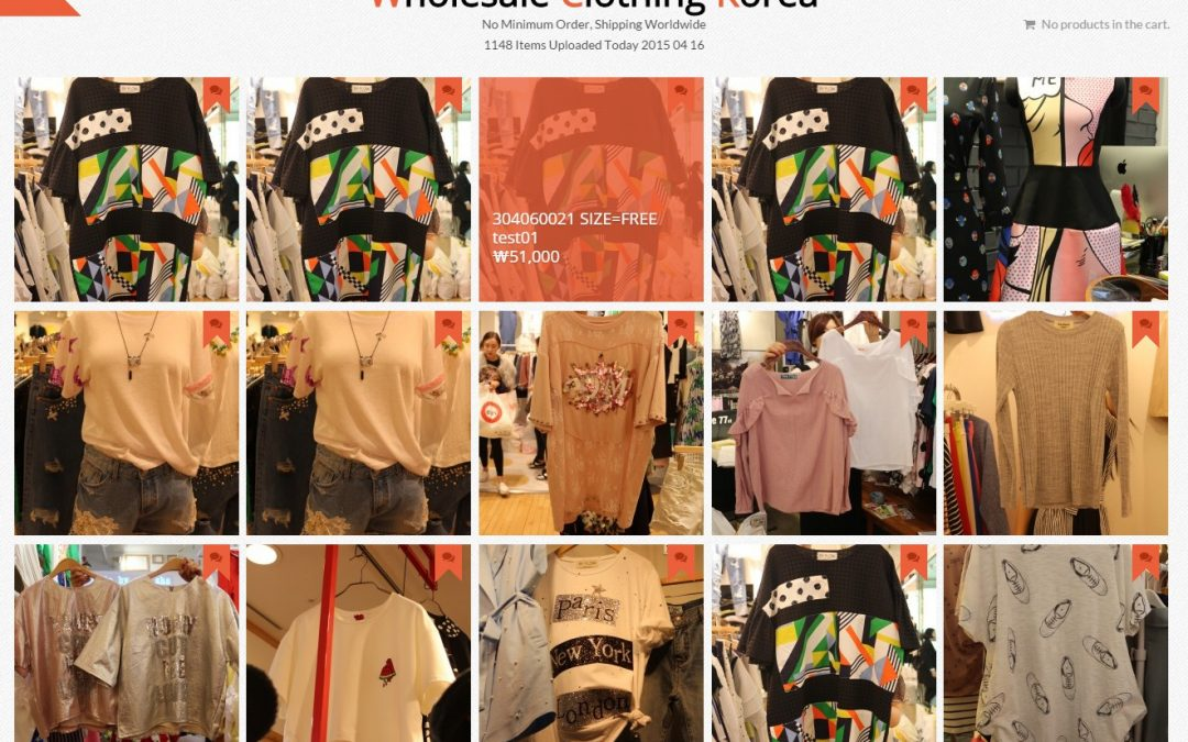 WholeSale Clothing Korea – 다국통화 쇼핑몰