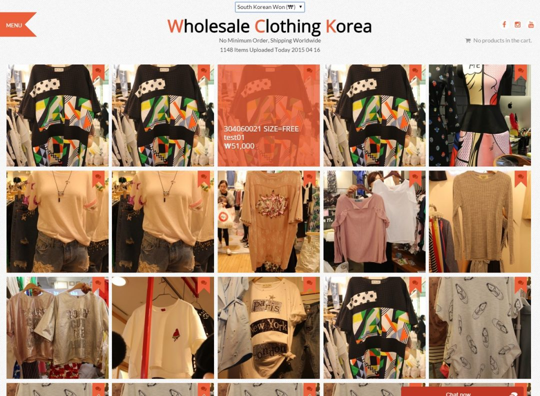 WholeSale Clothing Korea – 다국통화 쇼핑몰
