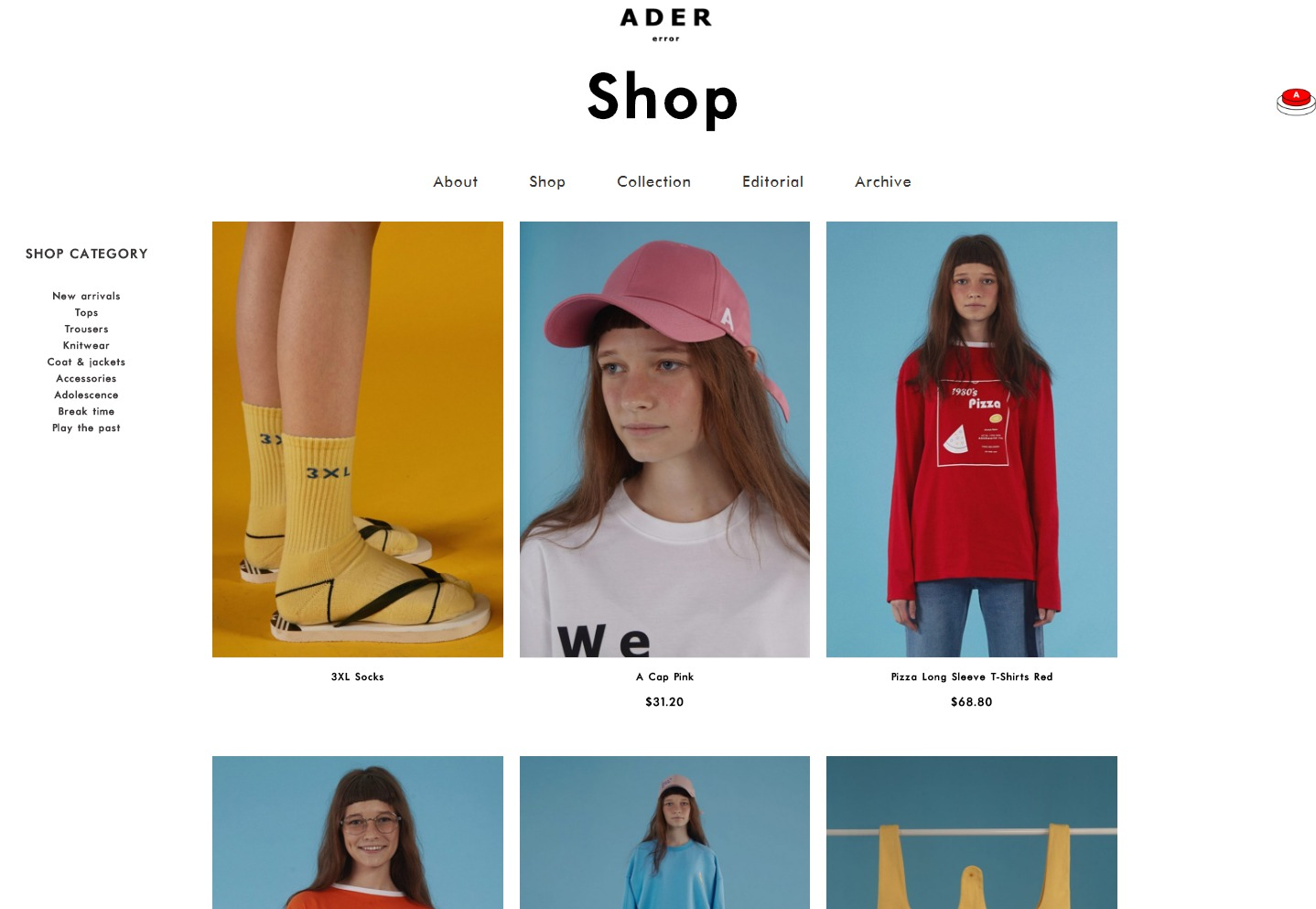 Ader error Shop   Ader error