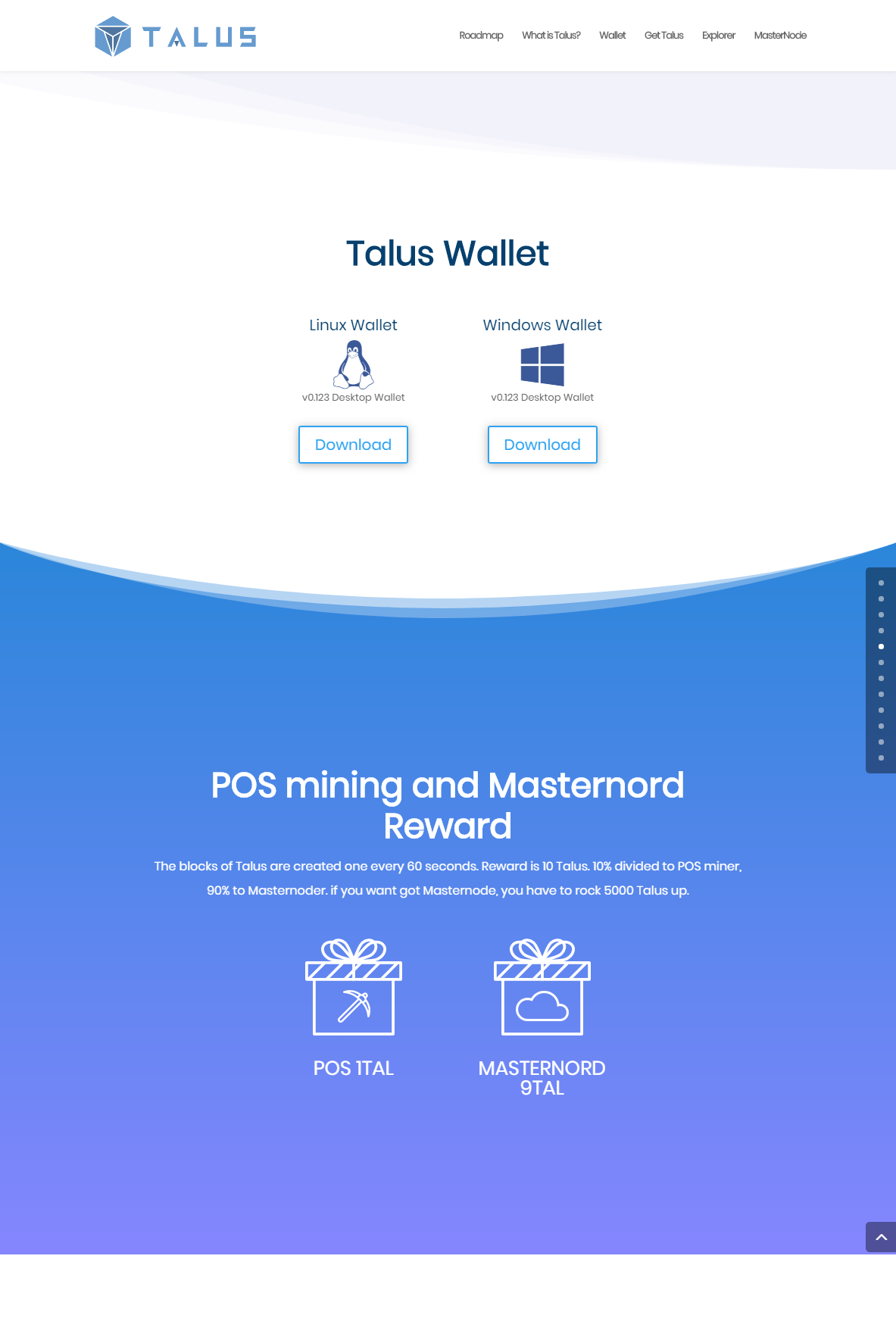 TALUS Decentralize exchange3