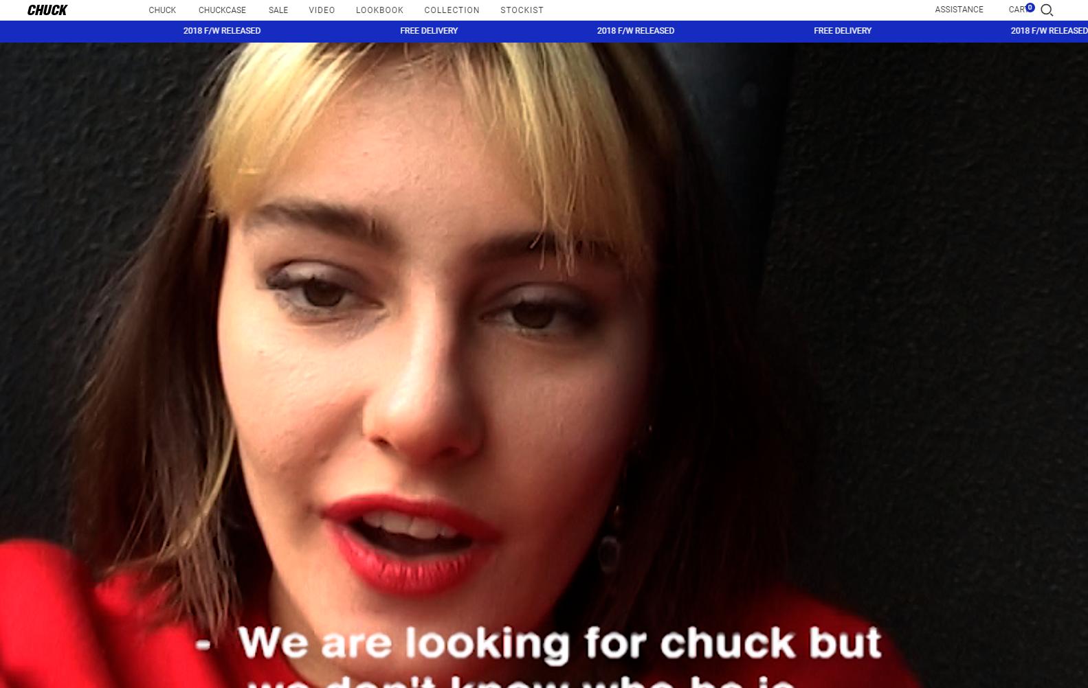 CHUCK 공식 홈페이지